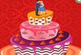 العاب كعكة الزفاف الدسمة