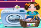 العاب مساعدة الأم في الغسيل