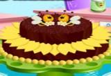 العاب طبخ كعكة الشوكولاتة الداكنة