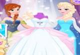 لعبة تصميم زفاف السا وآنا