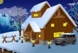 لعبة تصميم ديكور البيت الشتوي