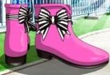 العاب احذية الشتاء الانيقة