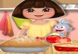العاب طبخ الفطائر مع الدورا