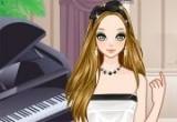 العاب تلبيس عازفة البيانو الانيقة