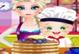 العاب السا و طبخ الفطائر