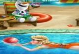 لعبة السا في المسبح