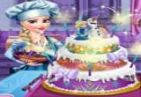 لعبة طبخ كعكة زفاف السا