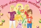 العاب الام و خمس بنات