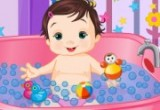 funny baby bath games