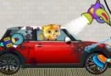 العاب غسيل سيارة القط المتحدث توم