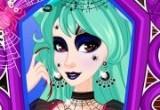 العاب مكياج ملكة العنكبوت في حفلة الهالوين