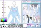لعبة تصميم أزياء ملكة الثلج