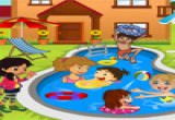 العاب مسبح الاطفال