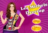 لعبة تلبيس الممثلة ليا ميشيل