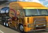 لعبة الشاحنة وتحميل البضائع