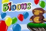 القرد والبالونات