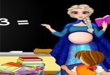 لعبة المعلمة السا الحامل