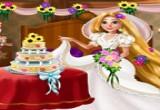 لعبة تزيين غرفة زفاف رابونزيل