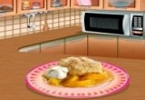 Sara's Cooking Peach Cobbler Game