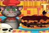 العاب طبخ توم الناطق كعكة الهالوين