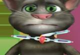 لعبة عملية جراحية في عنق القط توم