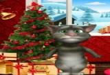 لعبة القط المتحدث توم في عيد الميلاد