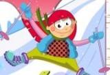 لعبة تصميم ديكور الزلاجة الثلجية