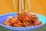 العاب طبخ السلطعون المقلي
