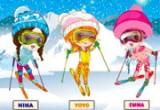 العاب تلبيس بنات الثلج