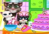لعبة طبخ مع أسرة القط توم