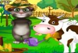 لعبة مزرعة القط توم الناطق