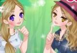 العاب تلبيس و مكياج الفتيات الصغيرات