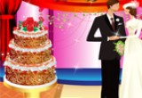 لعبة كعكة زفاف عيد الحب
