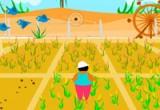 لعبة زراعة الذرة