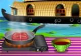 لعبة طبخ السلمون البحري