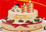 العاب تزيين كيكة عيد الميلاد